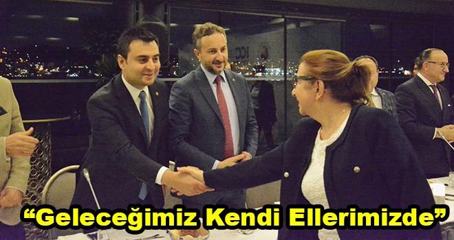Çorlu TSO Başkanı Volkan, Bakan Pekcan ve TOBB Başkanı Hisarcıklıoğlu ile Bir Araya Geldi