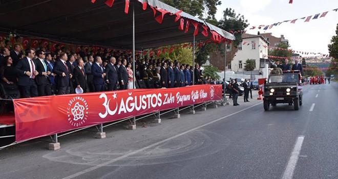 30 Ağustos Zafer Bayramı Tekirdağ'da Coşkuyla Kutlandı