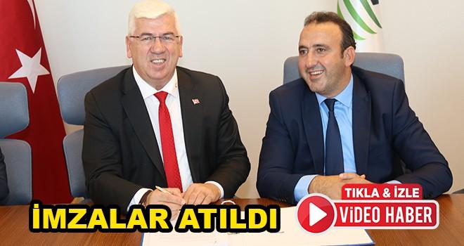 Ergene Belediyesi Atatürk Evi Projesi için imzalar atıldı