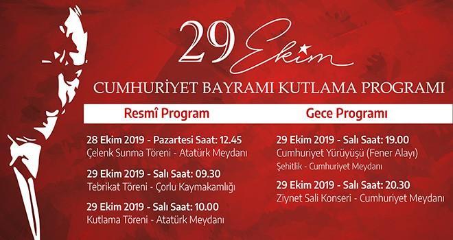 29 Ekim Cumhuriyet Bayramı Coşkuyla Kutlanacak