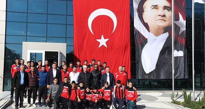 Başkan Yüksel Sağlıkspor Yönetici ve Futbolcuları ile Kahvaltıda Buluştu