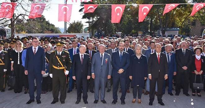 29 Ekim Cumhuriyet Bayramı Çelenk Sunma Töreni