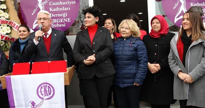 Ergene Cumhuriyet Kadınları Derneği Açıldı