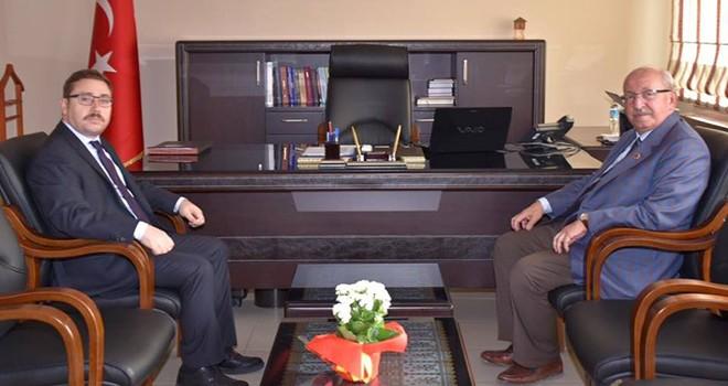 Başkan Kadir Albayrak'tan Muratlı Kaymakamı'na Ziyaret