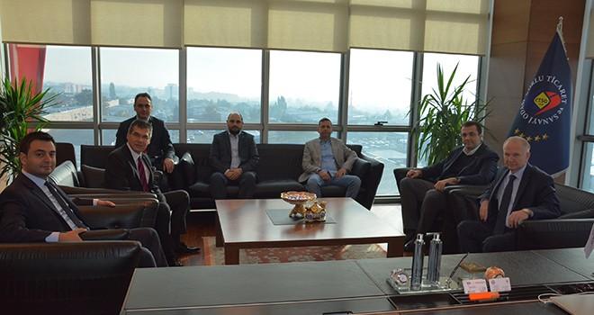 Tekirdağ Valisi Mehmet Ceylan'dan Çorlu TSO'ya Veda Ziyareti