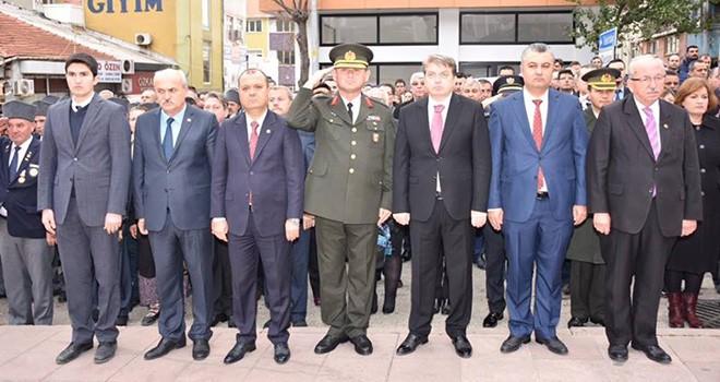 Başkan Albayrak Malkara'da Çelenk Sunma Törenine Katıldı