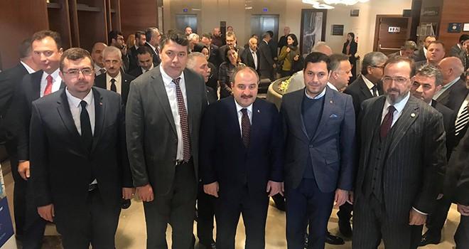 Sanayi ve Teknoloji Bakanı Varank Çorlu'da