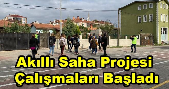 Ergene Belediyesi, Akıllı Saha Projesi çalışmalarına başladı