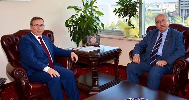 Başkan Albayrak'tan Prof. Dr. Tabakoğlu'na Ziyaret