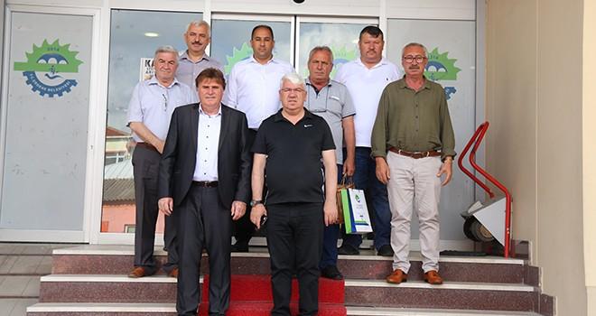 Radoviş'den Başkan Rasim Yüksel'e Ziyaret