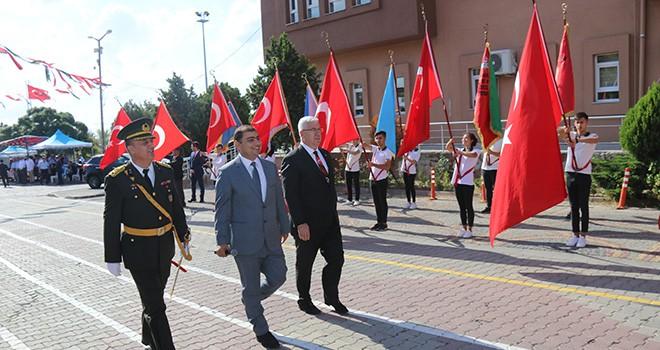 Ergene'de 30 Ağustos Zafer Bayramı Coşkuyla Kutlandı