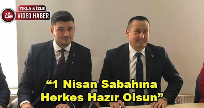 AK Parti Ergene Belediye Başkan Adayı Hamdi Sarıer'den İlk Açıklama