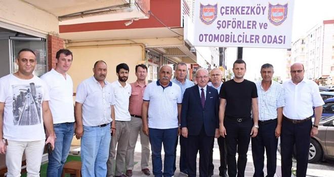 Başkan Kadir Albayrak Çerkezköy'de