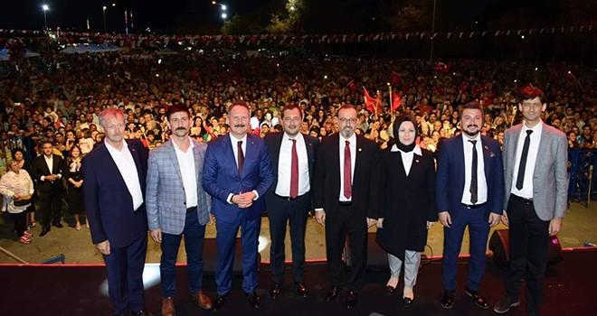 Süleymanpaşa'da 97. Zafer Coşkusu
