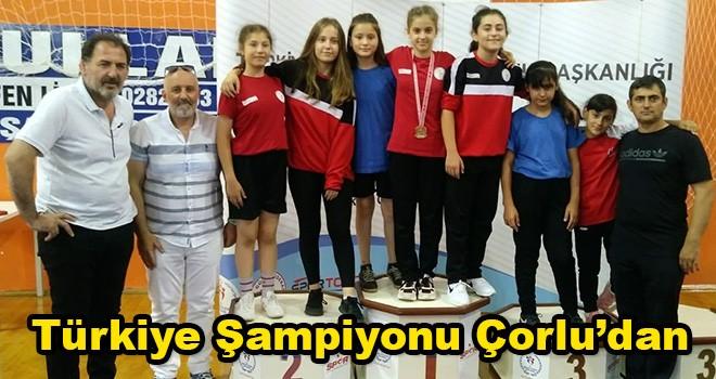 Çorlulu Güreşçi Hayrunisa Kayış Türkiye Şampiyonu Oldu