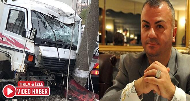 Çorlu'nun tanınmış ismi Egemen Töreli trafik kazasında hayatını kaybetti