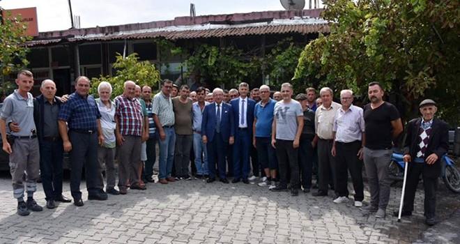 Başkan Albayrak'tan Saray ve Kapaklı Ziyareti