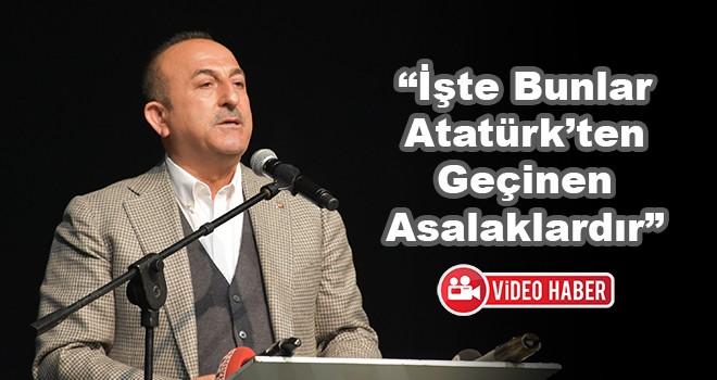 Dışişleri Bakanı Mevlüt Çavuşoğlu Çorlu'da