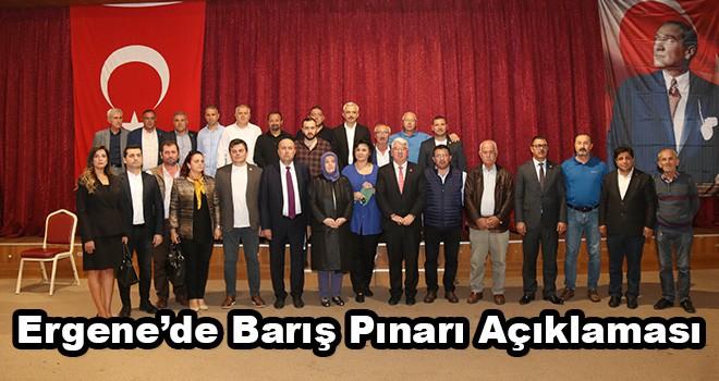 Ergene Belediye Başkanı Rasim Yüksel'den Barış Pınarı Harekatı Açıklaması
