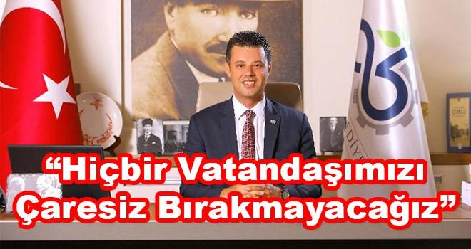 """Çorlu Belediye Başkanı Sarıkurt: """"Hiçbir vatandaşımızı çaresiz bırakmayacağız"""""""