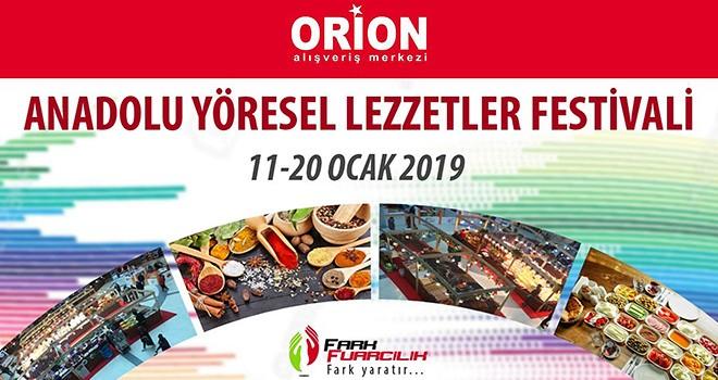 Lezzet Festivali Orion'da Başlıyor