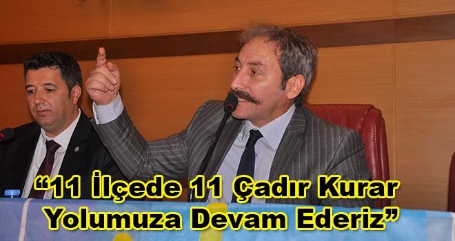 İYİ Parti'den Tekirdağ'da İttifak Açıklaması