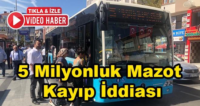 Tekirdağ Büyükşehir Belediyesi'nde 5 milyonluk kayıp mazot iddiası
