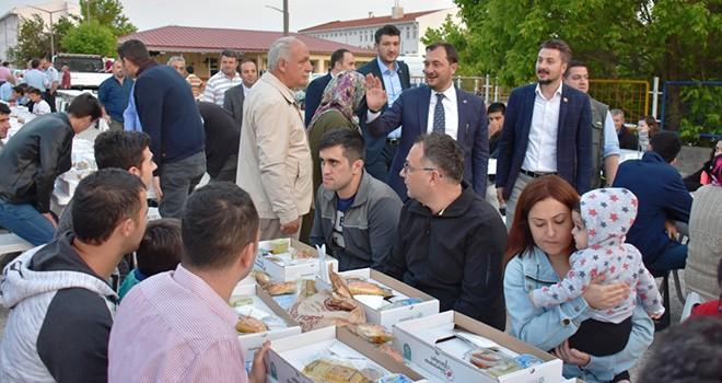 Gündüzlü Mahallesi'nde Oruçlar Gönül Sofrası'nda Açıldı