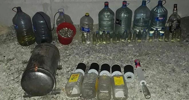 Tekirdağ'da kaçak içki ele geçirildi