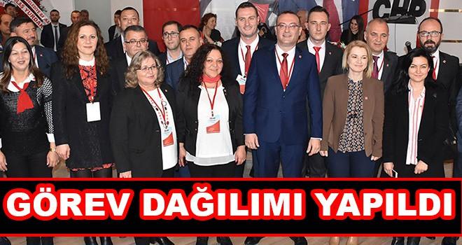 CHP Çorlu'da Görev Dağılımı Yapıldı
