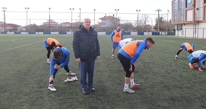 """Ergene Belediye Başkanı Rasim Yüksel, """"Ergene Velimeşespor hepimizin takımıdır"""""""