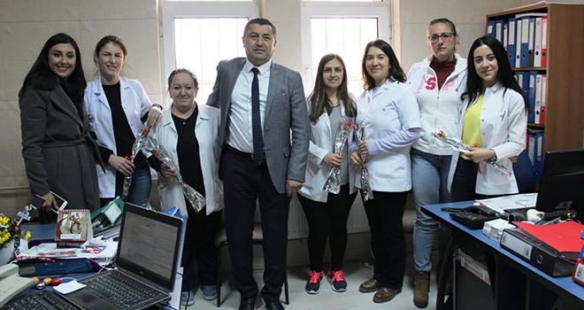 Serkan Erçili'den Sağlık Çalışanlarına Ziyaret