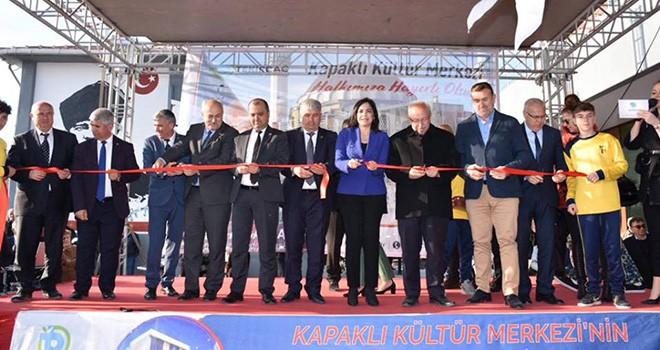 Kapaklı Atatürk Kültür Merkezi Hizmete Açıldı