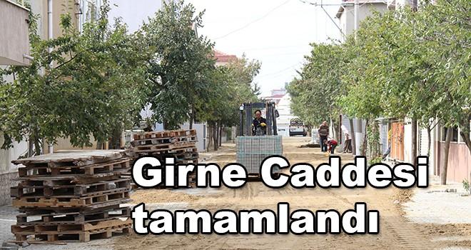 Ergene'de Girne Caddesi parke taş oldu