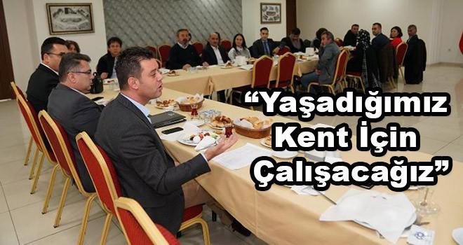 """Çorlu Belediye Başkanı Sarıkurt: """"Hep birlikte yaşadığımız kentimiz için çalışacağız"""""""