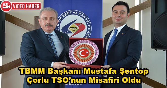 TBMM Başkanı Mustafa Şentop İşadamları İle Bir Araya Geldi