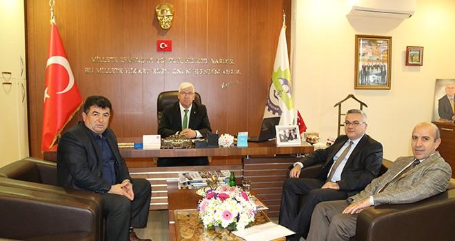 Oral Karakaya'dan Başkan Yüksel'e Veda Ziyareti