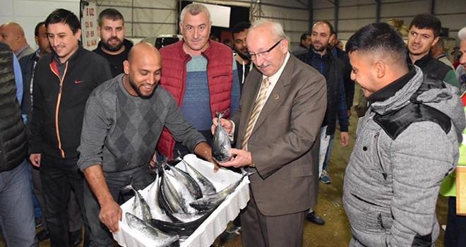 Başkan Kadir Albayrak'tan Balıkçılara Ziyaret
