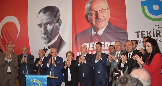 Başkan Yüksel Başkan Albayrak'ın Mazbata Törenine Katıldı