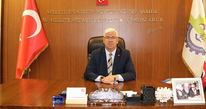 """Ergene Belediye Başkanı Rasim Yüksel, """"Basın mensuplarımızın 10 Ocak Çalışan Gazeteciler Günü kutlu olsun"""""""