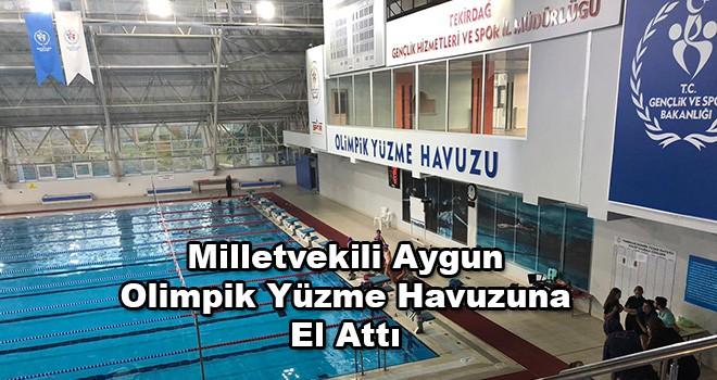 Milletvekili Aygun: 'Olimpik Yüzme Havuzu İçler Acısı Halde'