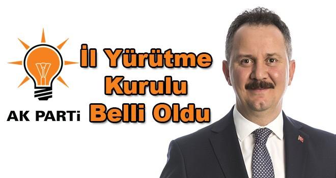 AK Parti'nin yeni yönetiminde görev dağılımı