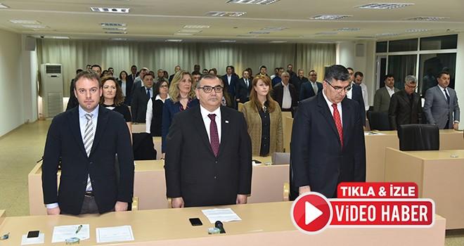 Çorlu Belediyesi Mart Ayı Olağan Meclis Toplantısı yapıldı