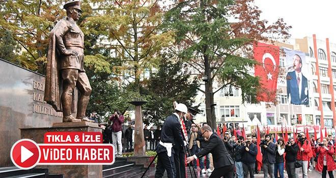 Ulu Önder Atatürk ölümünün 80. yılında Çorlu'da anıldı